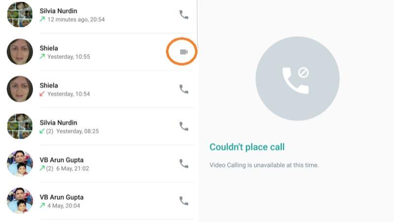 امکان تماس ویدویی هم اکنون در پیام رسان واتس اپ