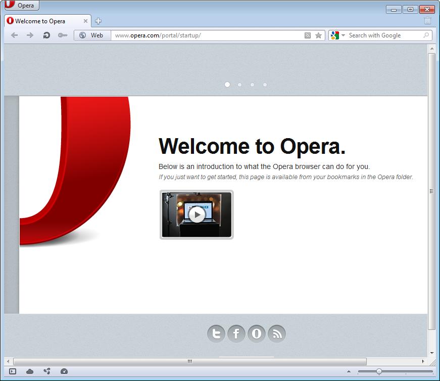 نسخه 11.62 مرورگر اپرا منتشر شد