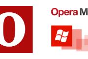 بروز رسانی رابط گرافیکی Opera Mini بتا برای ویندوزفون