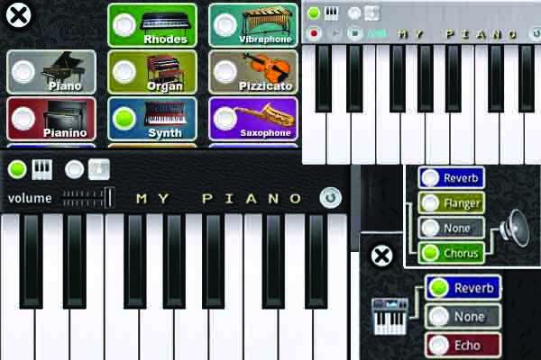 معرفی نرم افزار My Piano برای آندروید