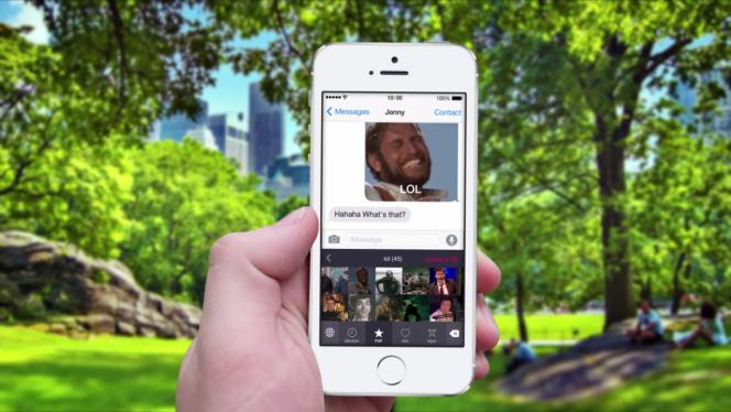 اپلیکیشن PopKey کیبورد انیمیشنی برای iOS