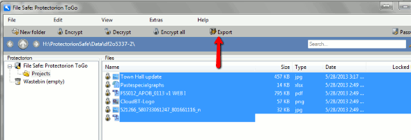 Protectorion-To-Go-Unencrypted-Export-files