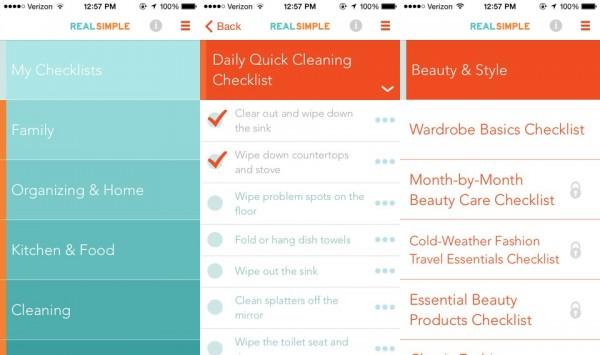 Real-Simple-Checklist