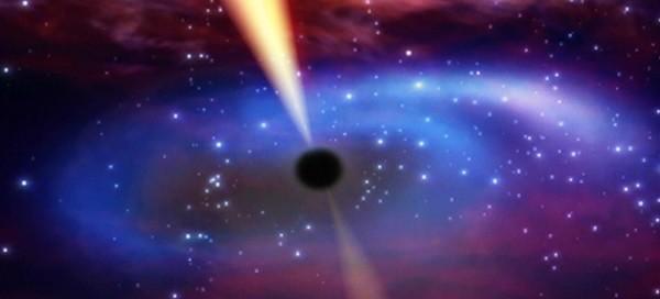 ستاره و سیاه چاله