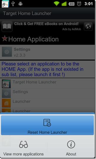 Reset-Home-Launcher