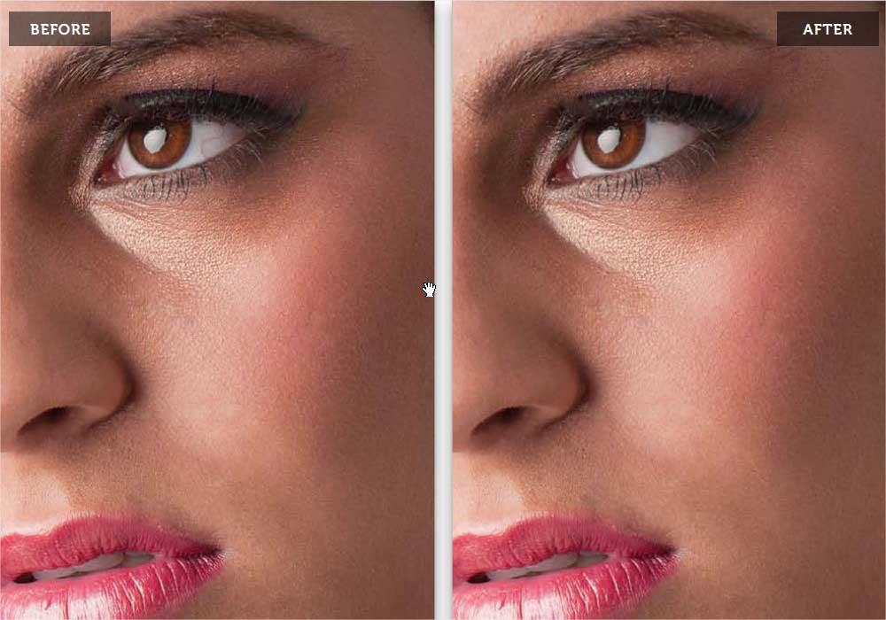 درشت کردن چشم ها به کمک فتوشاپ (یا کوچک کردن)