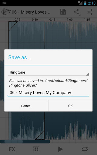 Ringtone Slicer Beta