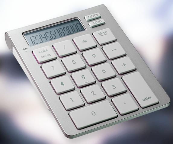 کیپد ماشین حساب بلوتوث SMK-LINK iCALC قابلیت ماشین حساب