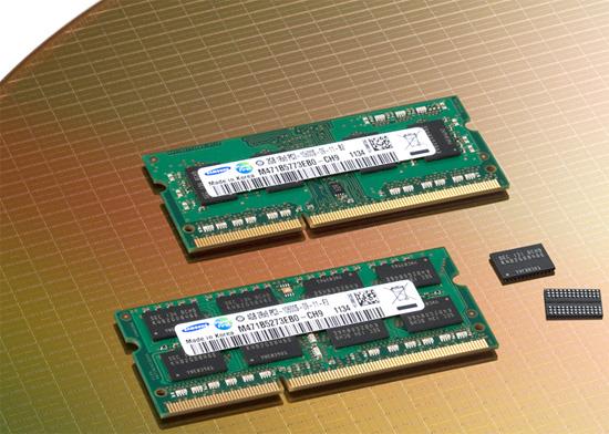 سامسونگ و تولید انبوه اولین حافظه های DDR3 در کلاس 20 نانومتر در جهان