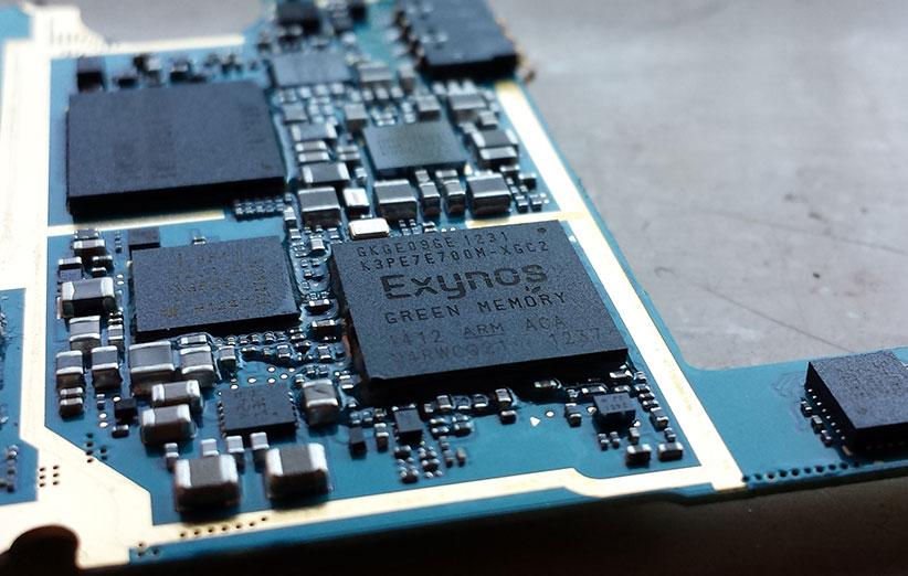 کمپانی سامسونگ سرعت پردازنده خود را تا ۳۰ درصد افزایش داد