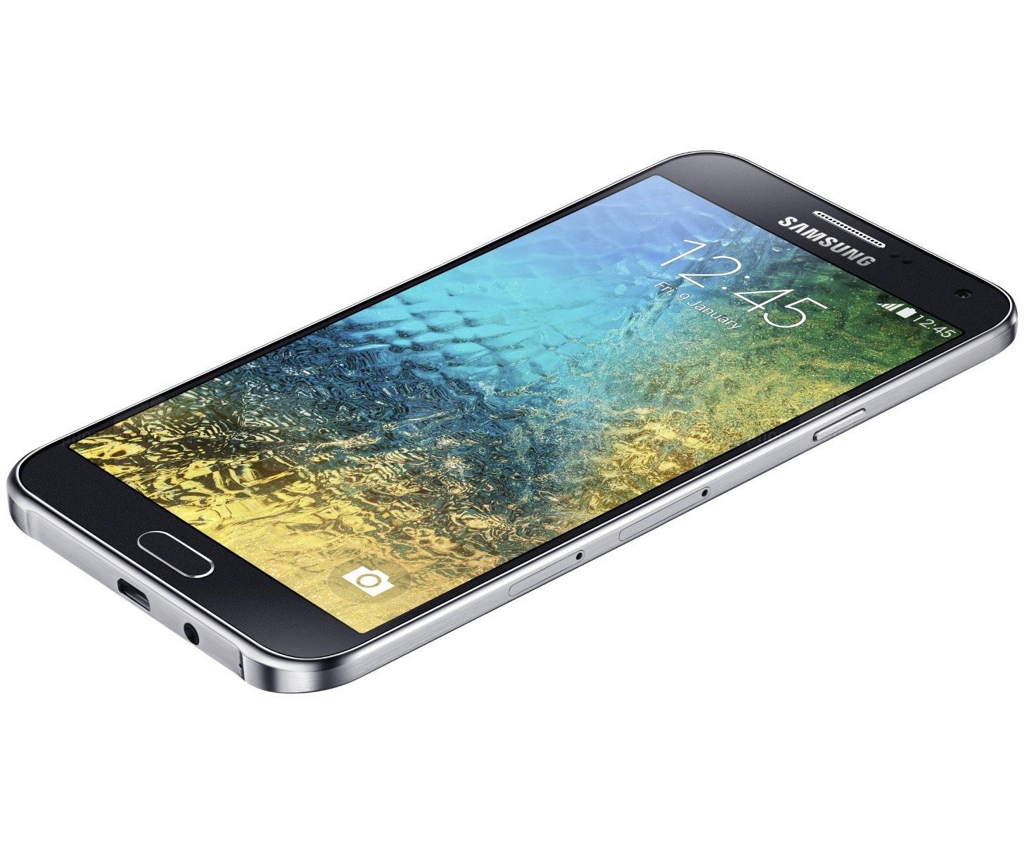 معرفی دو گوشی گلکسی E5 و گلکسی E7 توسط شرکت سامسونگ