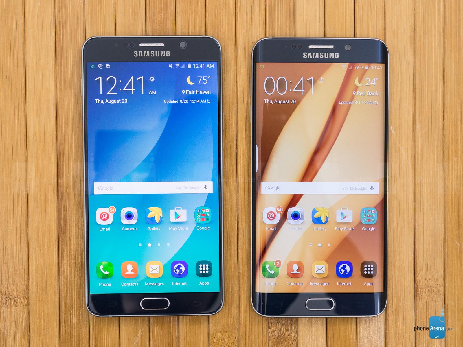 تصاویری از Galaxy S6 به همراه اندروید ۶