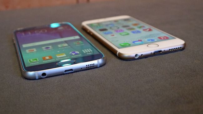 ۸ دلیل برتری Galaxy S6 بر iPhone 6S