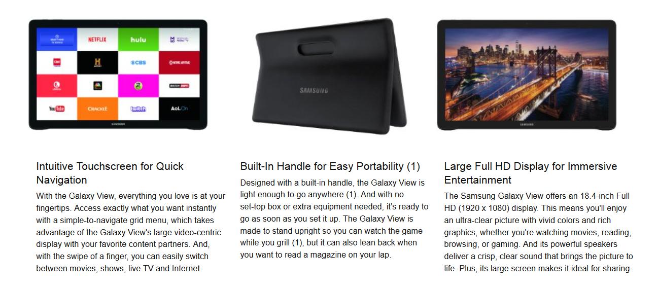 Samsung-Galaxy-View-is-discountehd-100-at-Amazon