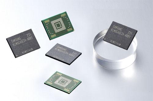 ارتقا استاندارد حافظه های گوشی های سامسونگ