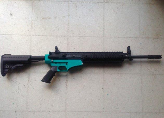 تفنگی که با چاپگر سه بعدی چاپ شده است
