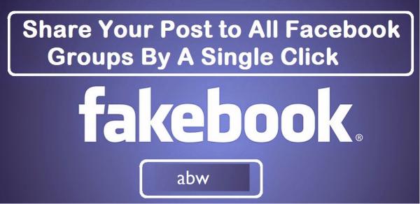 آموزش ارسال اتوماتیک و همزمان یک پست در چند گروه فیس بوک