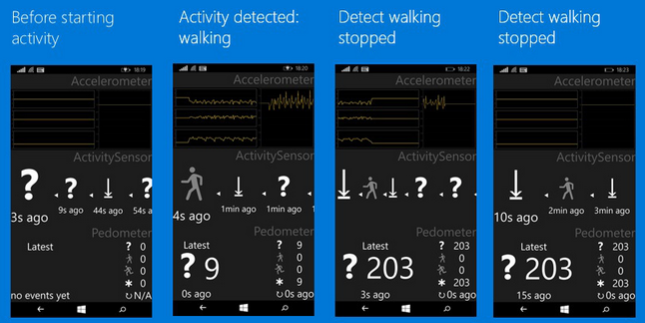 Screenshots-show-how-a-Windows-10-for-Phones-powered-handset-can-detect-the-activity-you-are-doing-and-also-knows-when-you-stop