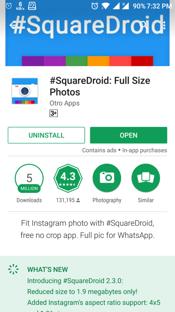 Sequar Deroid App