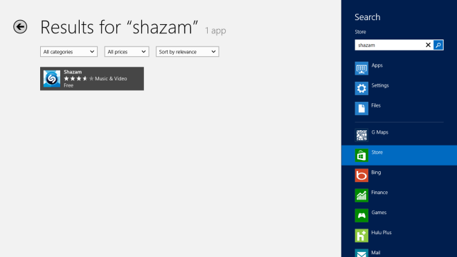 Shazam-Store-Search