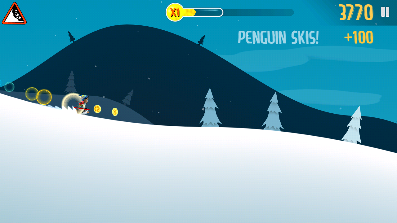 Ski-Safari-Collect-coins