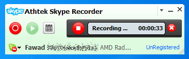 Skype-Recorder-Interface
