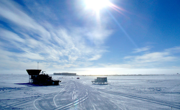 راز رویت زودتر از موعد ابرهای آبی در قطب