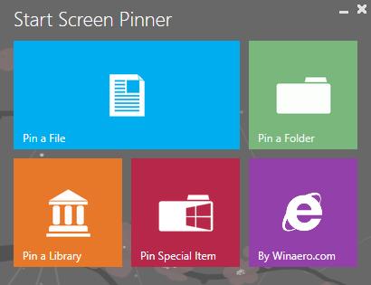 هرچیزی را که می خواهید در استارت اسکرین ویندوز 8 قرار دهید