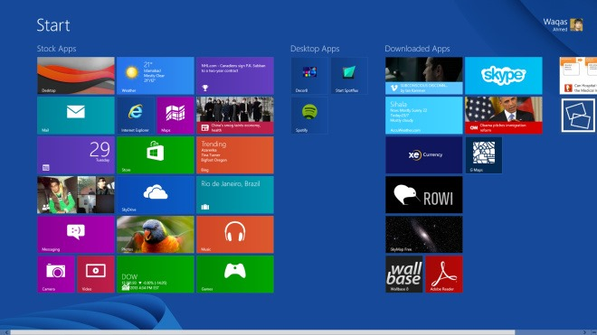 Windows 8-Start Screen