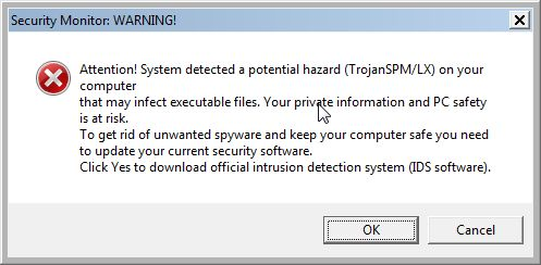 System Care Antivirus-Warning