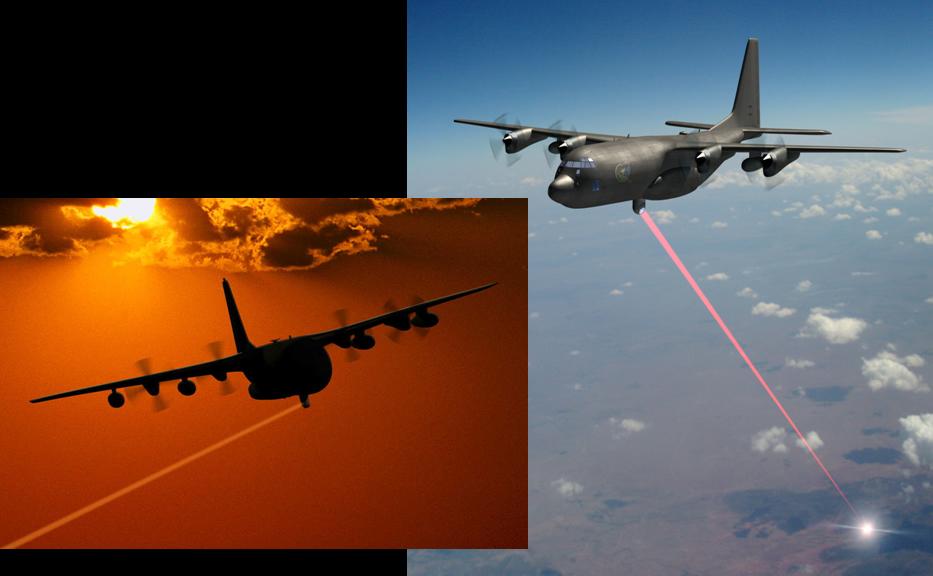 آزمایش لیزر پرقدرت هوا به زمین آمریکا در سال ۲۰۱۸