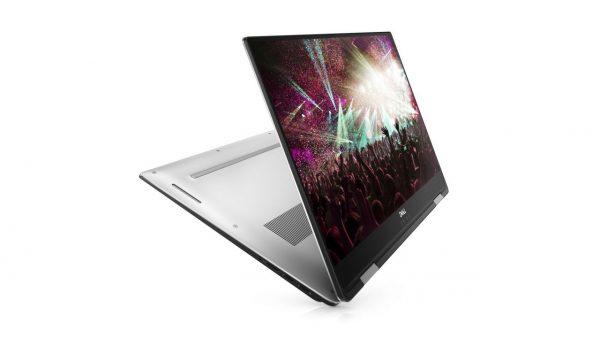 لپ تاپ XPS 15  با کیبورد مغناطیسی