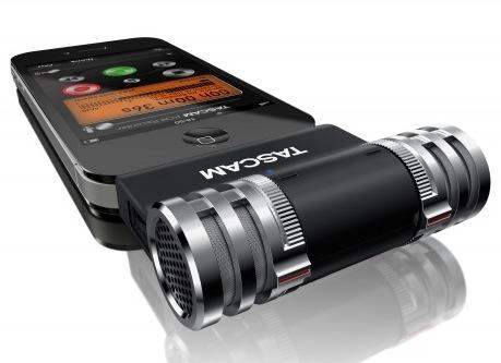 میکروفن استریوی Tascam برای دستگاههای مبتنی بر iOS