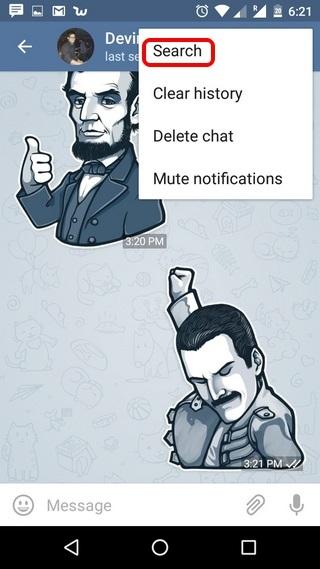 آموزش تصویری تنظیمات تلگرام