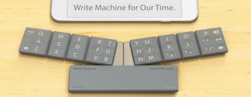 صفحه کلید ۸ کلیده برای آیفون و اندروید که تایپ را آسان می کند!