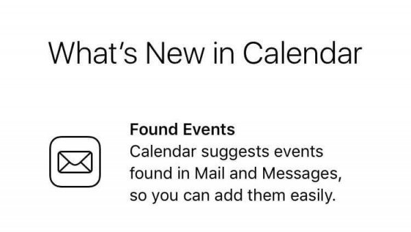 The Calendar Automatically Adds Events