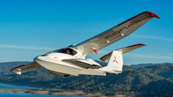 The ICON A5 aeroplane