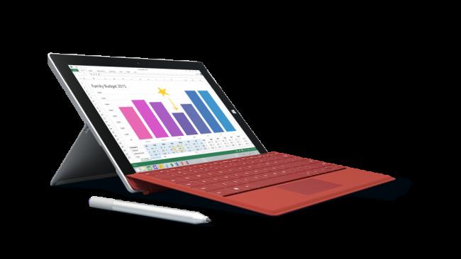 و ناگهان Surface 3