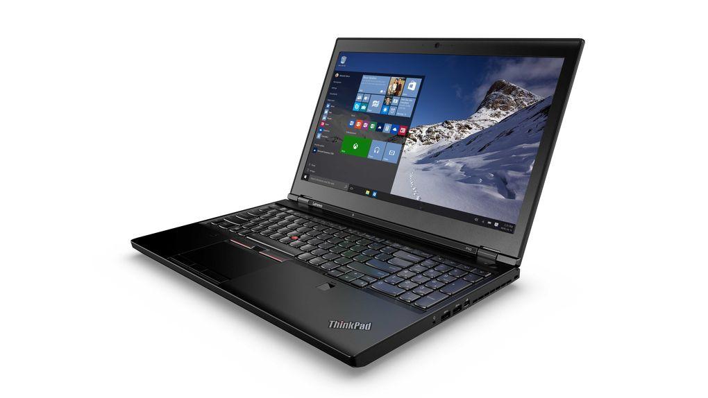 لنوو از لپ تاپ های ThinkPad P50 و P70 پرده برداری کرد