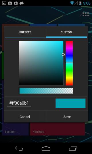 Tile-Launcher_Tile-Options