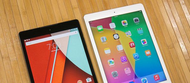 مقایسه دو غول مدرن؛ ۲ iPad Air و Google Nexus ۹