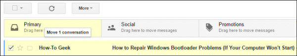 Train Your Default Inbox