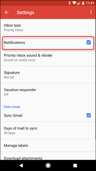 Turn on Notifications for Important Messages