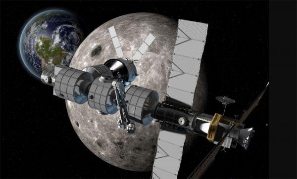 ساخت بندر به دور ماه توسط ناسا