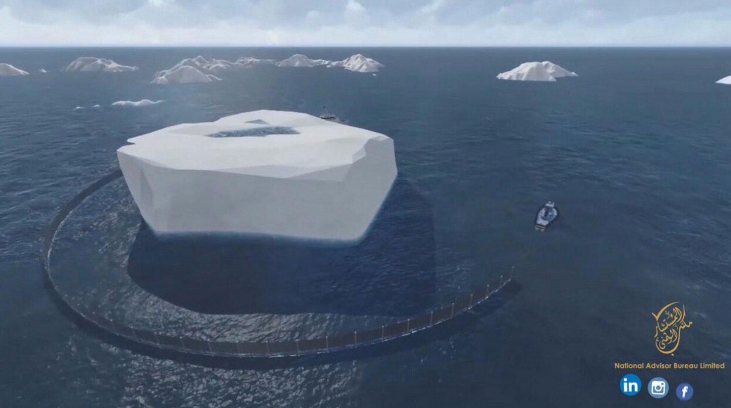 جابه جایی یخ قطب به سمت امارات