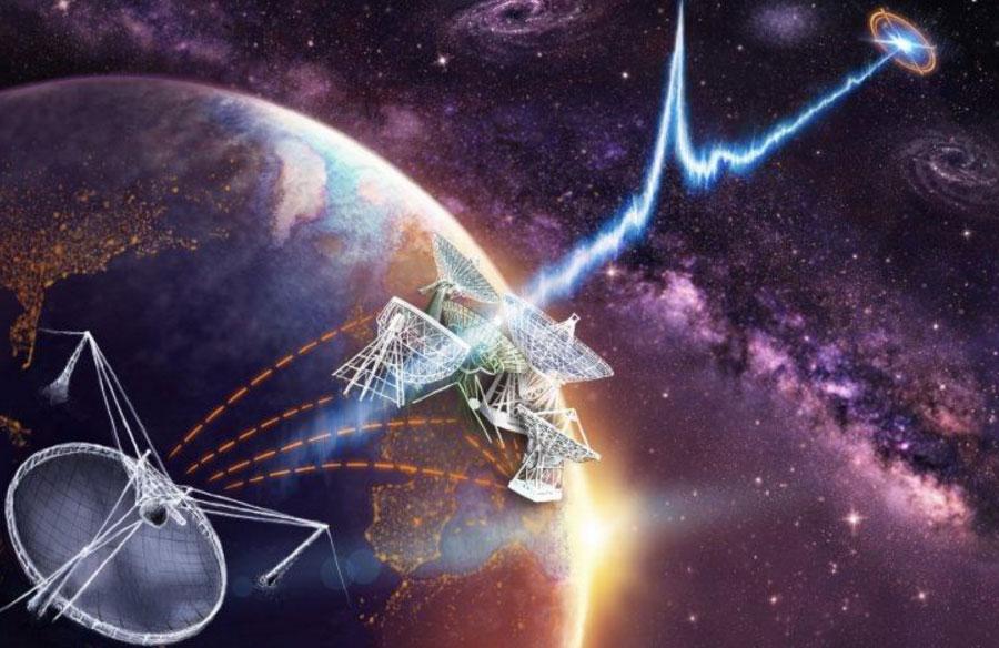 سیگنال مرموز فضایی