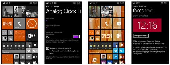با اپلیکیشن Analog Clock Tile ساعت آنالوگ زیبایی را به گوشی ویندوزفونی خود اضافه کنید