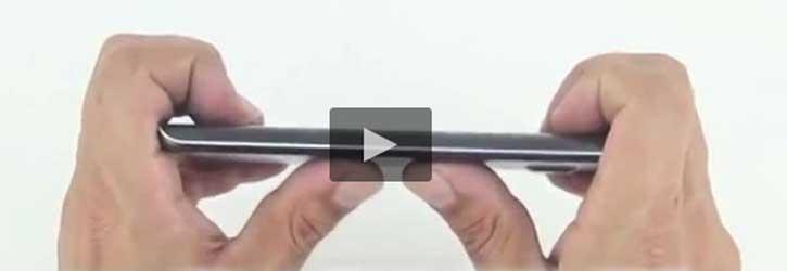 تست خم شدن Galaxy S6 Edge [تماشا کنید]