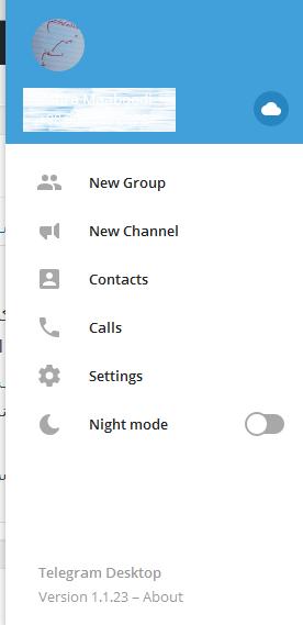 Untitled 29 آموزش فعال کردن قابلیت حالت شب یا Night Mode در تلگرام اخبار IT