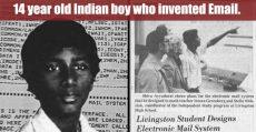 مخترع هندی ایمیل